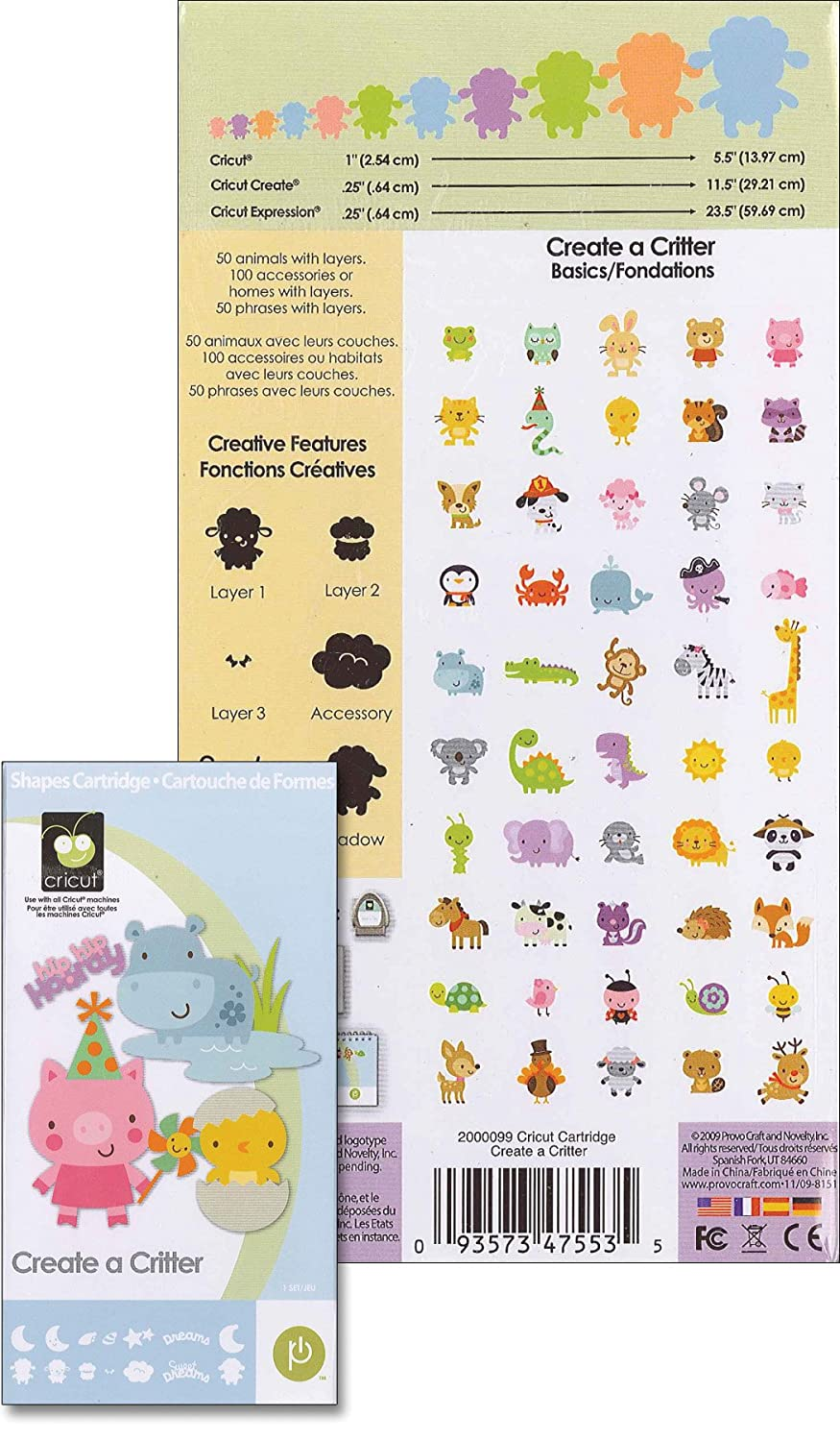 Cricut Cartridge, Create a Critter $28.1