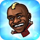 Flappy Footballer-Hand Puppet league in the big head nofeet Marionette world