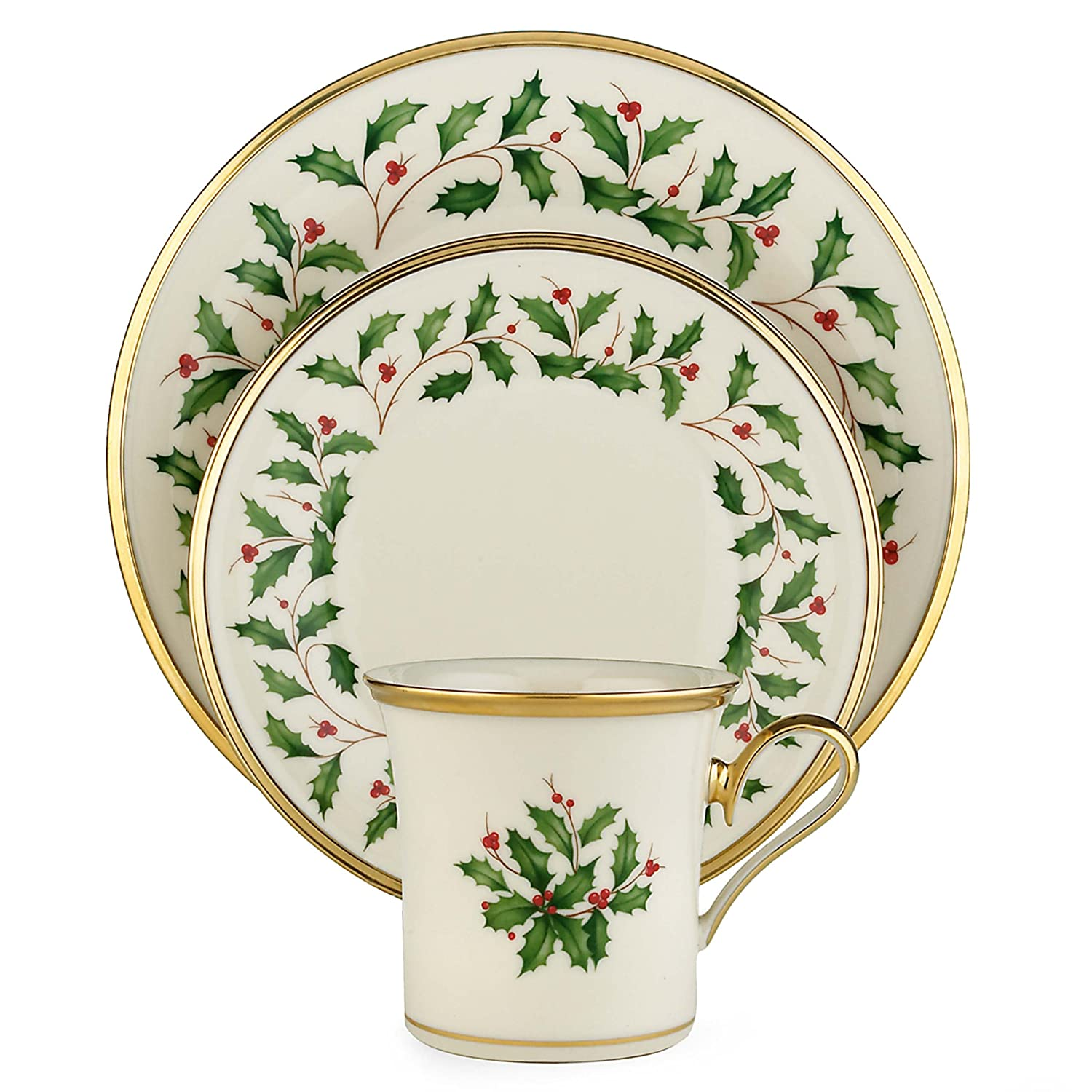 Christmas Holly Dinnerware Sets Christmas Wikii