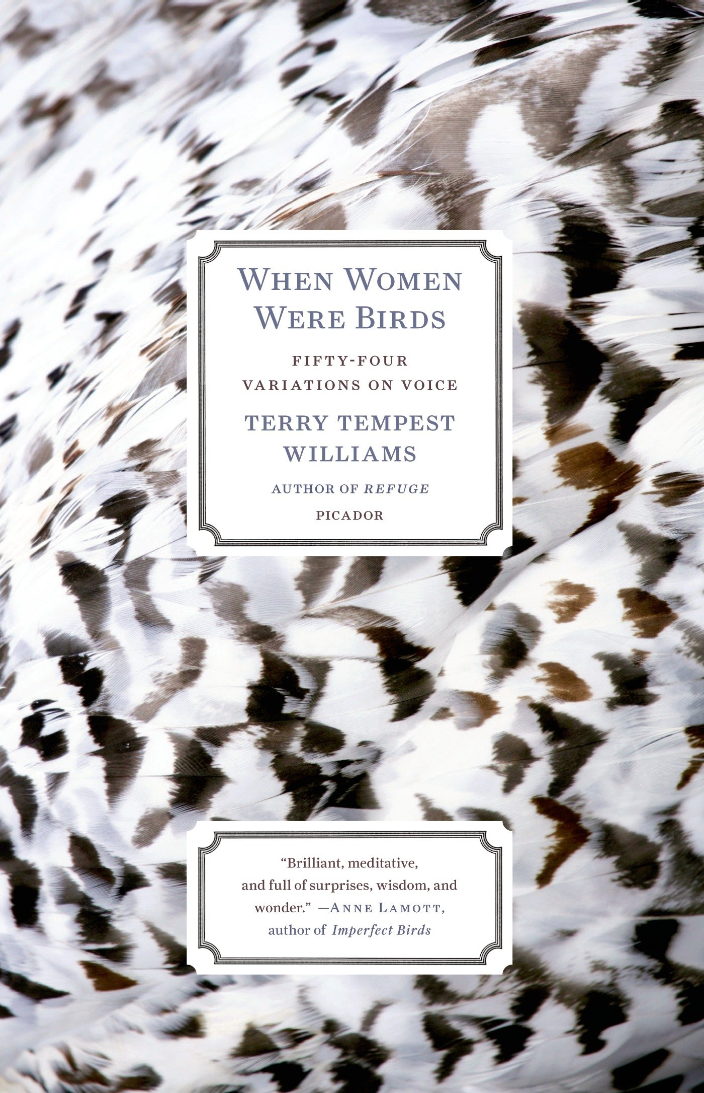 When Women Were Birds by Terry Tempest Williams