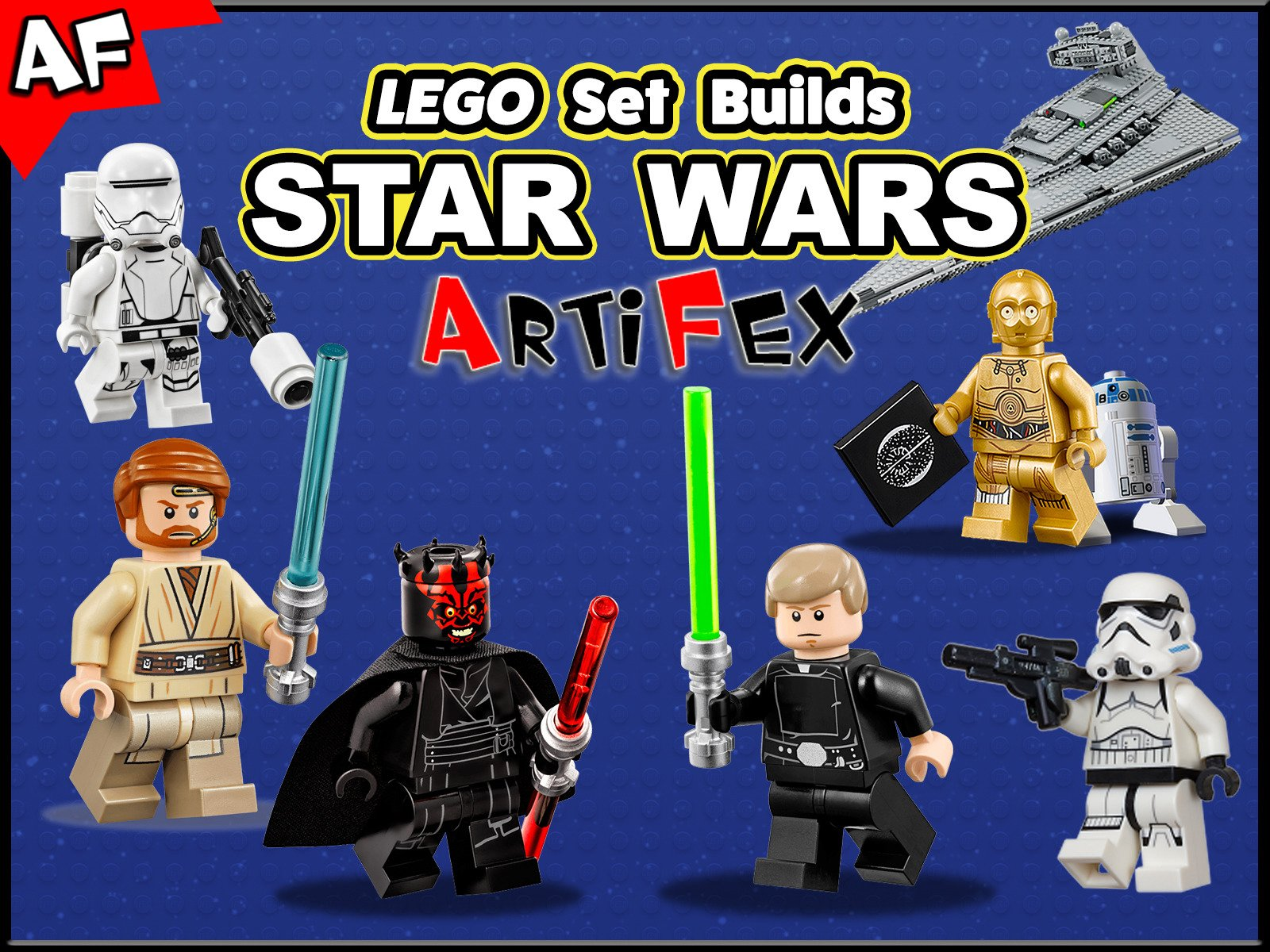 Clip: Lego Set Builds Star Wars - Season 4