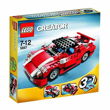 Lego - 5867 - Jeu de Construction - Lego Creator - La Voiture de Rallye