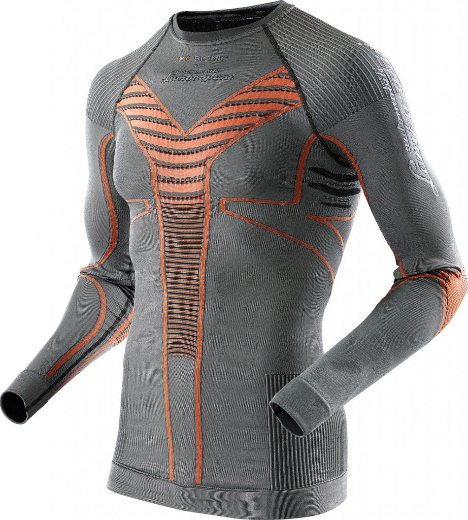 X-BIONIC for Automobili Lamborghini Ski Man Radiactor Shirt