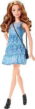 Barbie - CLN67 - Fashionistas - Robe Bleu Jean - Poupée Mannequin 29 cm