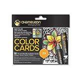 Chameleon Art Products, Chameleon Color Cards, Zen (Color: Zen, Tamaño: 4