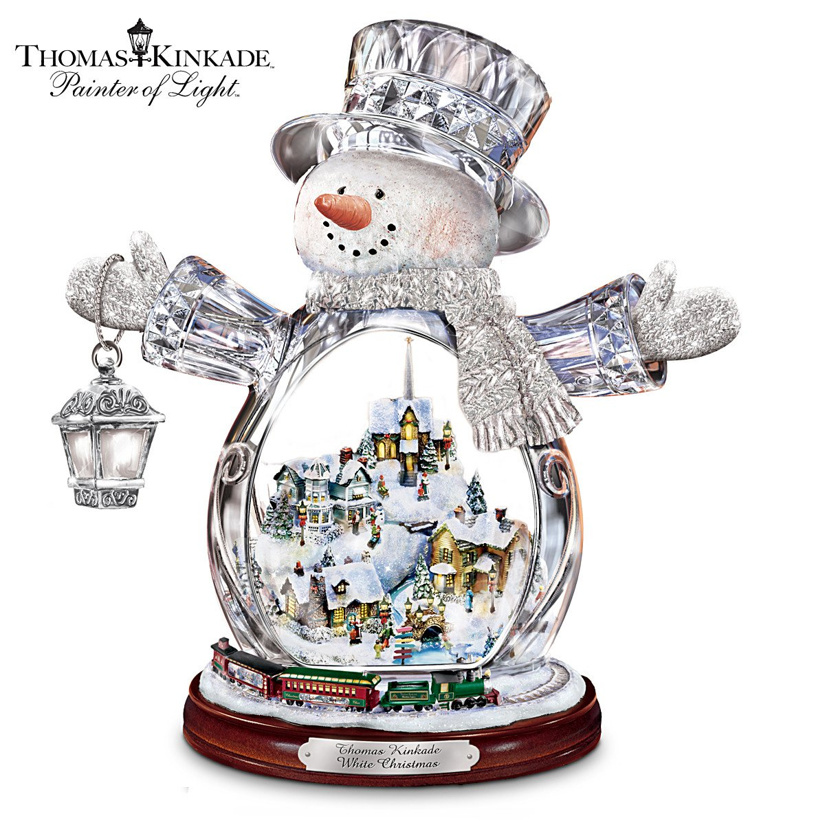 Thomas Kinkade Animated Christmas Tree