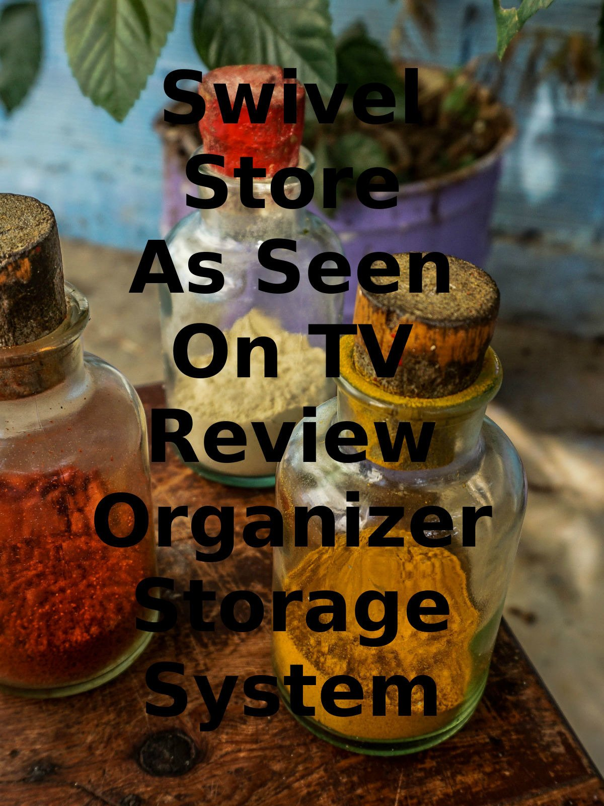 Review: Swivel Store As Seen On TV Review Organizer Storage System on Amazon Prime Video UK