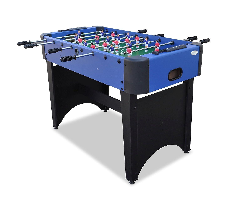 Gamesson Rom II Freistehender Tischfußball-Tisch, schwarz/blau, 4Beine jetzt bestellen