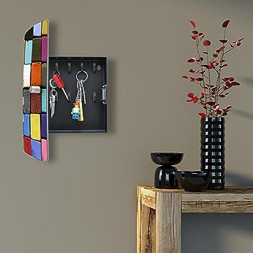 burg w chter schl sselkasten mit motiv da575. Black Bedroom Furniture Sets. Home Design Ideas