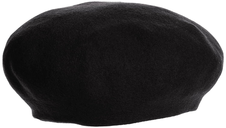 (ミルサ)milsa MI 158-361225 M BS Tuck ribbon Beret 53MI9CA23100L C019 black F : 服&ファッション小物通販 | Amazon.co.jp