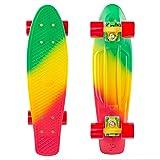 Penny Skateboards Standard Spike Orange Skateboard, Multicolor (Color: Multicolor, Tamaño: 22