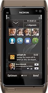 Nokia N8 Smartphone 3,5 Zoll bronze  Kundenbewertung: