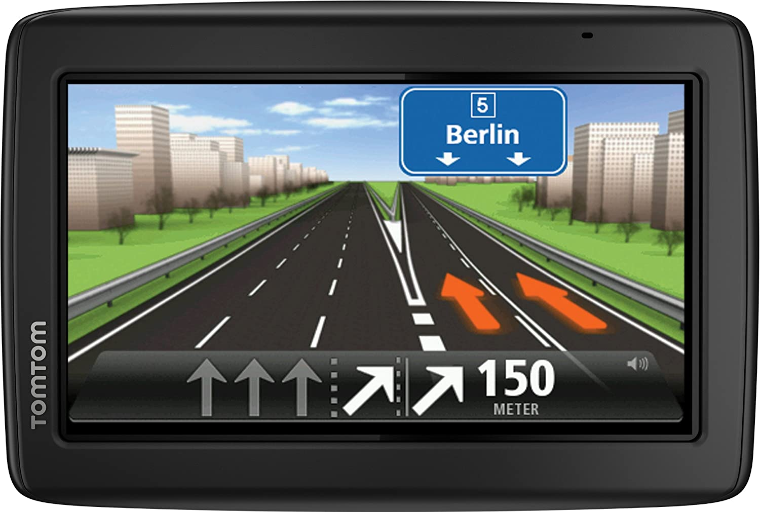 TomTom Start 25 M  Central Europe Traffic Navigationsgerät, Free Lifetime Maps, 13 cm (5  Zoll) Display, TMC, Fahrspurassistent, Parkassistent, IQ Routes,  Zentraleuropa 19