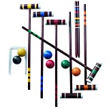 Franklin Sports 6 Player Family Croquet Set