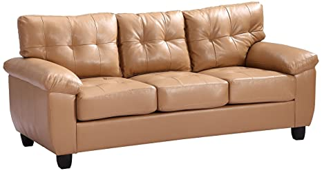 Glory Furniture G901A-S Living Room Sofa, Tan