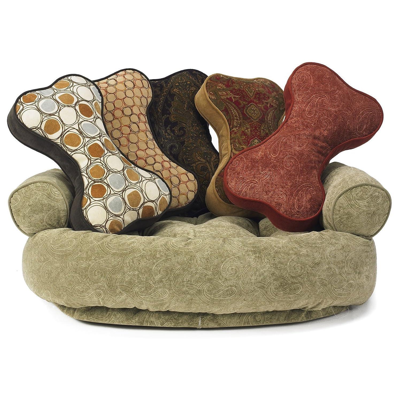 Sofa Toss Pillow Color: Cappucino Treats