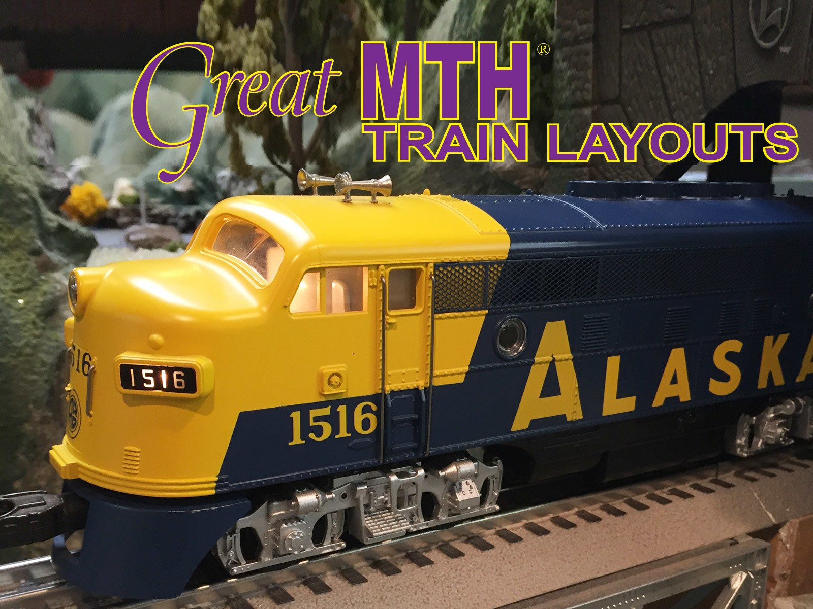 Great MTH Train Layouts on Amazon Prime Instant Video UK
