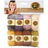 Lion Brand Yarn 865-205 Vanna's Palettes Yarn, Essential