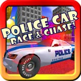 Police Car Race & Chase! Toy Car Game For Toddlers and Kids With Siren, Lights, Cops & Robber Supercar 3D Action