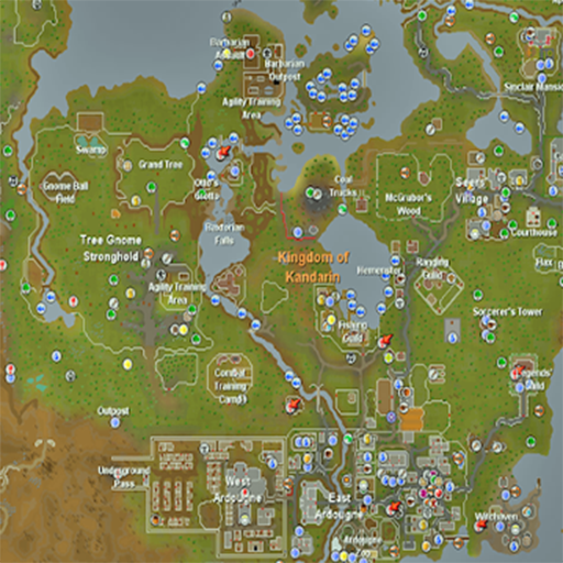 Runescape Map Appstore for Android