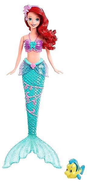Disney Princesses - X9396 - Poupée - Ariel Aquatiques
