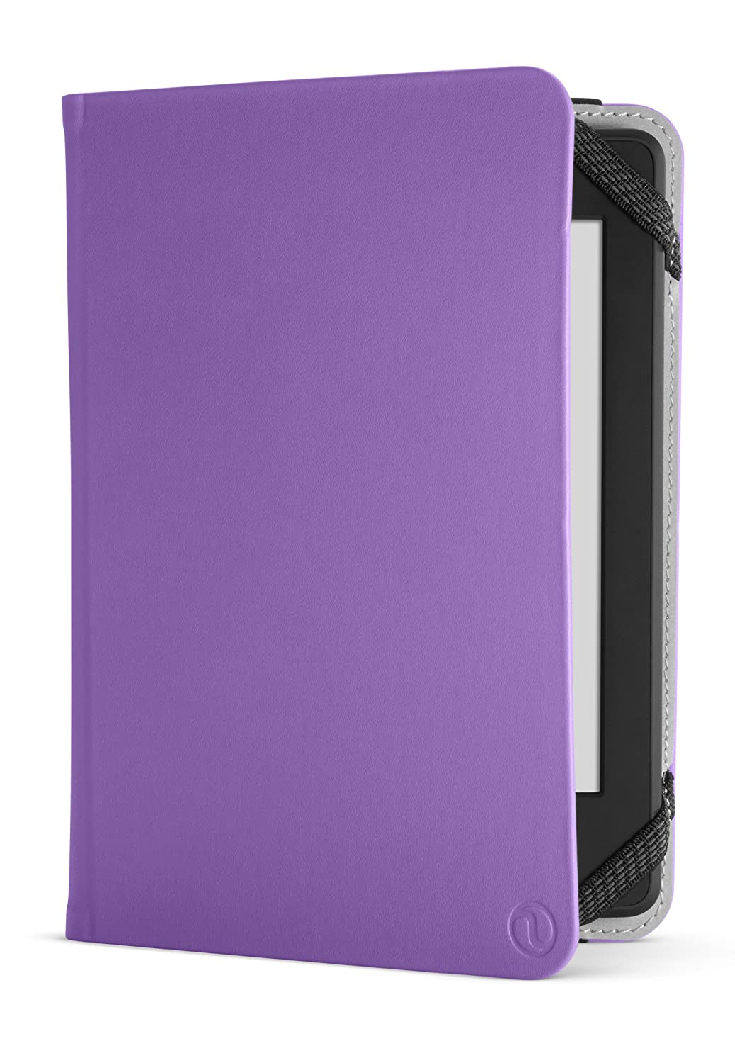 NuPro Amazon Kindle Paperwhite Case - Lightweight Durable Slim Folio Cover (fits Kindle and Kindle Paperwhite), Purple