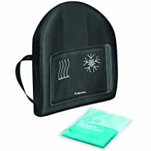 Fellowes Heat and Soothe Back Support, Black (9190001)
