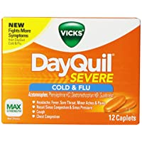 Vicks DayQuil Severe Cold & Flu Relief Caplets 12 Count