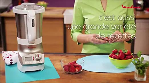 Moulinex soup amp co lm9001b1 blender chauffant cuisine - Blender chauffant vorwerk ...
