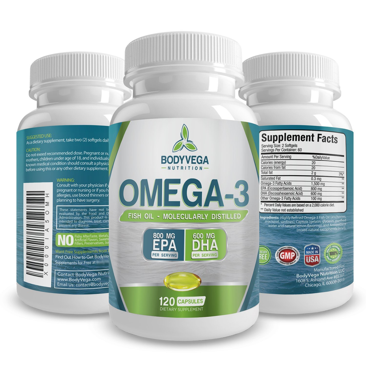 Top 20 best omega 7 fish oil supplements list and for Best fish oil capsules