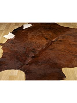 benuta tapis de salon salon moderne rodeo hides pas cher marron marron 180x230 cm sans. Black Bedroom Furniture Sets. Home Design Ideas