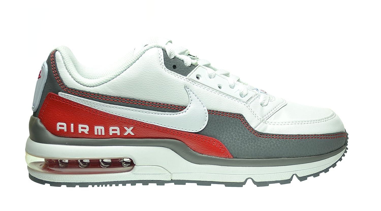 100% authentic 5c1e0 d90cc Nike Air Max LTD 3 Men s Shoes White White-Cool Grey-Sport Red ...