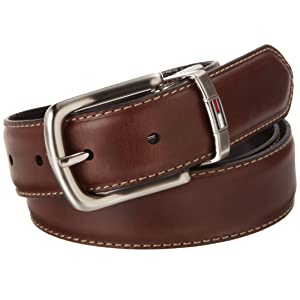 Tommy Hilfiger Men's Leather Reversible Belt