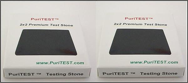 2 Acid Test Stones Gold Silver Platinum Testing Tools
