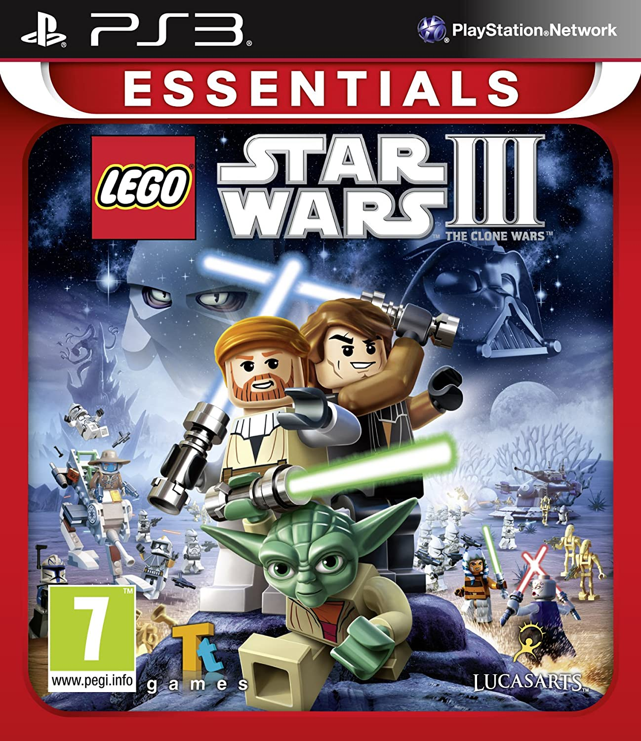 playstation ps ps3 spiel lego star wars 3 iii the clone. Black Bedroom Furniture Sets. Home Design Ideas