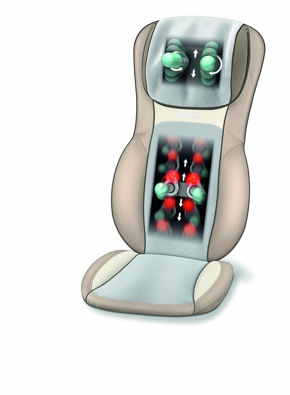 beurer mg 290 shiatsu sitzauflage massagematte. Black Bedroom Furniture Sets. Home Design Ideas