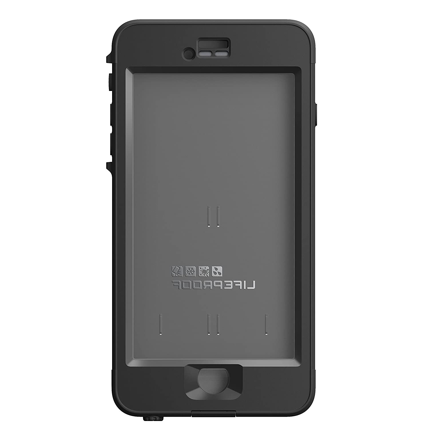 new authentic lifeproof nuud case for iphone 6 plus. Black Bedroom Furniture Sets. Home Design Ideas