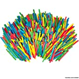 Horizon Group USA Colored Wood Stick for Crafting Projects 4800ct, Assorted (Color: Multicolor, Tamaño: One Size)