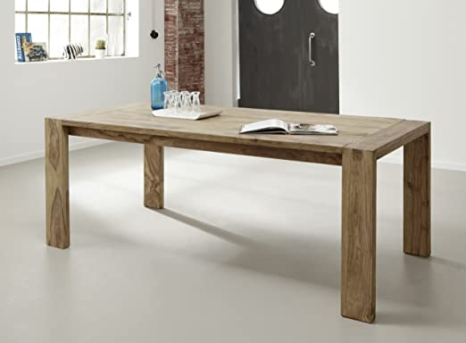 Wolf Möbel-Yoga tavolo da pranzo-160x 90cm-Sheesham Naturale