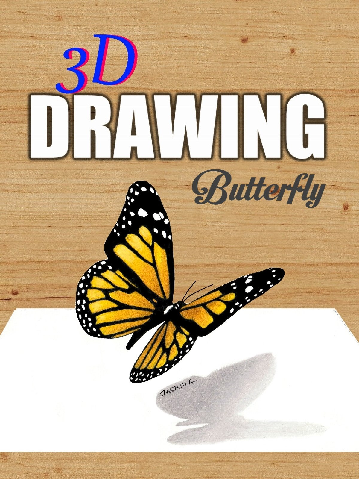 Clip: 3D Drawing Butterfly