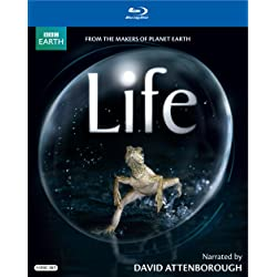 Life Narrated by David Attenborough on Blu-ray Disc