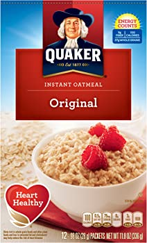 4-Pack Quaker 11.8 Oz. Instant Oatmeal Original