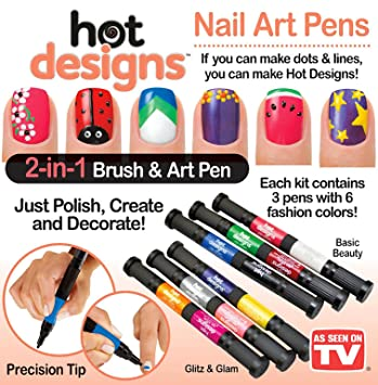 Hot Designs Nail Art Ideas abstract by michelesnails nail art gallery nailartgallerynailsmagcom by nails magazine wwwnailsmagcom nailart Nail Art Design Hot