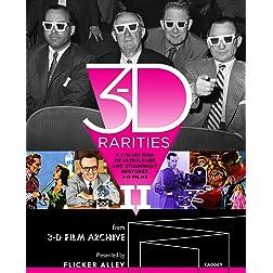 3-D Rarities, Volume II [Blu-ray]