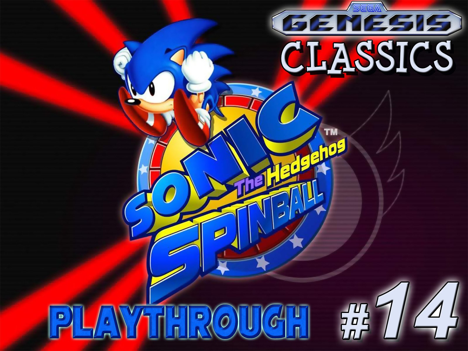 Clip: Sonic the Hedgehog Spinball Playthrough (Genesis Classics 14) - Season 1