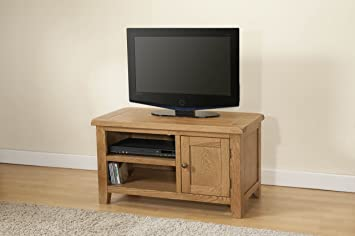 Shrewsbury Solid Oak Standard TV Unit