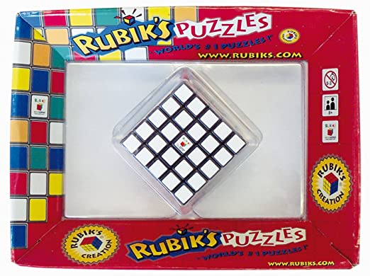 Rubik's - 0708 - Jeu D'action Et De Réflexe - Rubik's Cube 5x5 - Rotation Avancée Avec Méthode