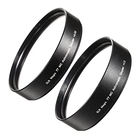 SLR magic diopter 1,3 et 0,33 pour anamorphot sLR magic