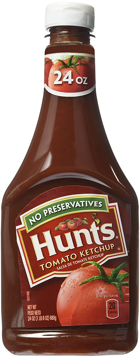 HUNTS KETCHUP 24 OZ(Pack of1)