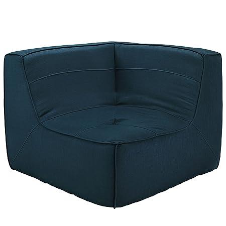 Align Upholstered Corner Sofa - Azure